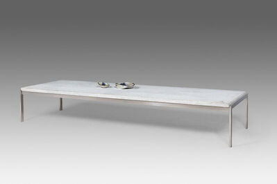 Poul Kjærholm, 'Exceptional large coffee table (special order)', 1968