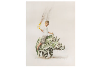 Ernest Zacharevic, 'Splash & Burn First Edition'