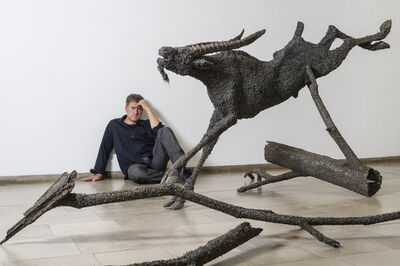 Mirsad Herenda, 'O.T. ( Goat)', 2011