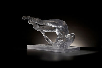 Eric Fischl, 'Untitled (Tumbling Woman, Study)', 2012