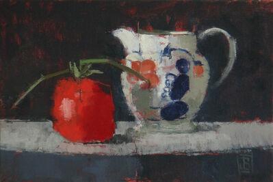 Jill Barthorpe, 'Gaudy Jug With Tomato', 2018