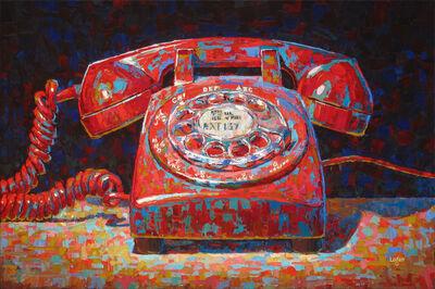 Raymond Logan, 'Rotary Phone Red', 2016