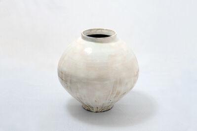 Kang Hyo Lee, 'Buncheong Moon Jar #35', 2018
