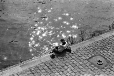 Edouard Boubat, 'Les amoureux de Paris III', 1962