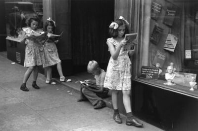 Ruth Orkin, 'Comic Book Readers, NYC, 1947', 1947