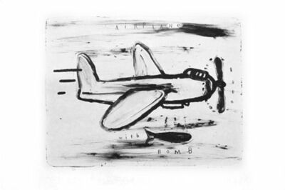 David Lynch, 'Airplane with Bomb', 2010