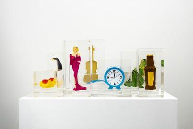 Mungo Thomson, 'Stress Archive ($100 Bills, Alarm Clock, Beer Bottle, Flip Flop, Gold Violin, Hot Dog, Movie Star, Penguin, T. Rex)', 2014-2020