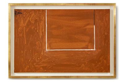 Robert Motherwell, 'Open Study in Tobacco Brown', 1971