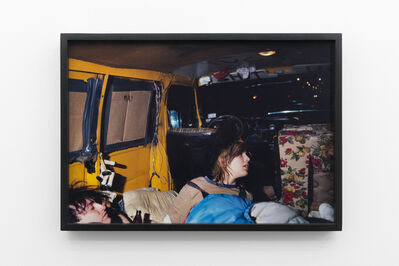 Robin Graubard, 'Kim in Van or Kim's Dolls (Lower East side, NYC)', 1985/2007
