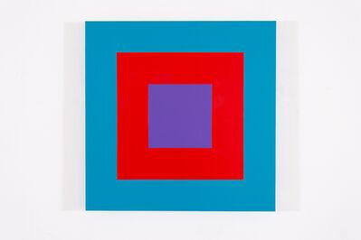 Claude Tousignant, 'Cible carrée #2', 2018