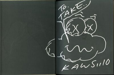 KAWS, 'Unique hand signed Cloud Drawing', 2010