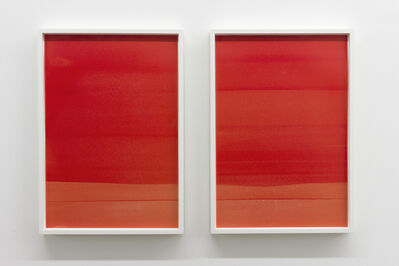 Jim Verburg, 'Red (Landscape #1 and #2) ', 2014