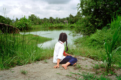 Pipo Nguyen-duy, 'Girl by the River', 2013