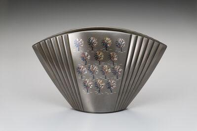 "Nakagawa Mamoru, 'Vase ""Hayashi"" (Trees)', 2019"
