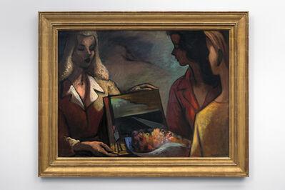 Lorser Feitelson, 'Three Girls', 1943