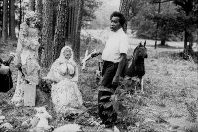 Margo Rosenbaum, 'Reverend John Ruth in his Bible Park, Woodville GA', ca. 1980-Printed 2021