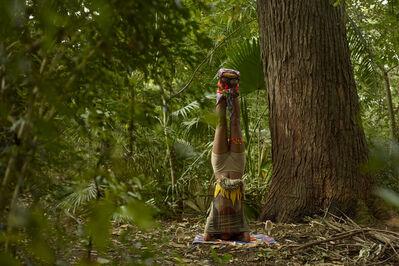 Nilbar Güres, 'Head Standing Totem', 2014