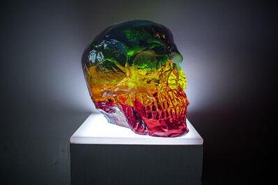 Sam Tufnell, 'Rainbow Skull', 2019