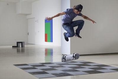 Shaun Gladwell, 'Skateboarders v's Minimalism', 2016