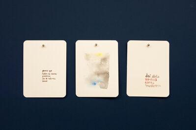Maíra das Neves, 'BN(Baralho Urgência) - da série Um Lance de Cartas) [BN (Urgency Cards) - A Throw of Cards series]', 2013