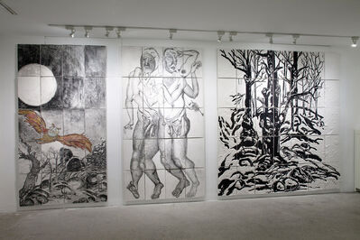 Daniel Heyman, 'Winter: Artist Engages (installation view)', 2012