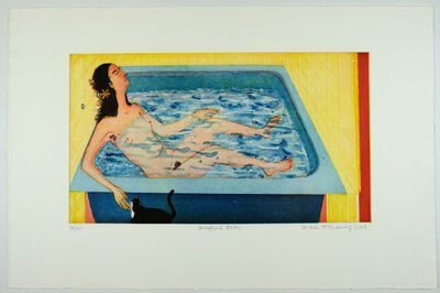 Sarah McEneaney, 'Beneficial Bath', 2002
