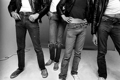 Norman Seeff, 'Jean & Keds; The Ramones, Los Angeles', 1977