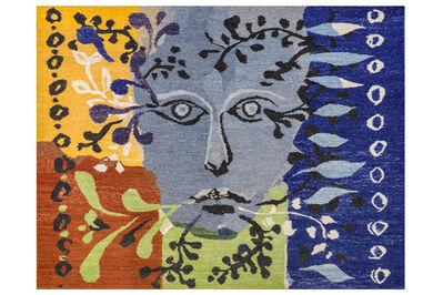 John Piper, C.H., 'Blue faced man'