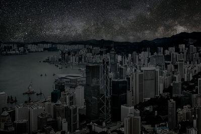 Thierry Cohen, 'Hong Kong 22° 16' 38'' N 2012-03-22 lst 14:00', 2012