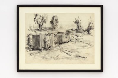 Durant Sihlali, 'Loading timbre', 1975