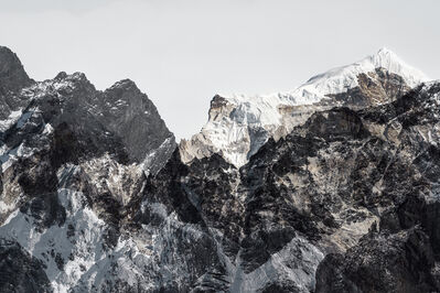 Renate Aller, 'PLATE 7 | Switzerland, Alps, March 2016 | Nepal, Himalayas, Everest Region, Dec 2016   ', 2016