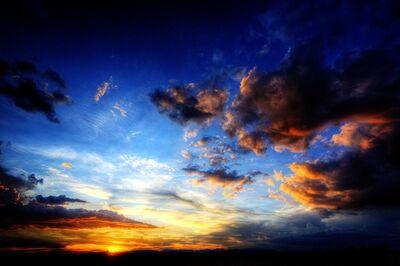 David Glick, 'Santa Fe Sunset 19'