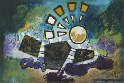 Aubrey Williams, 'Moon Time I (Olmec Maya and Now Series)', 1984