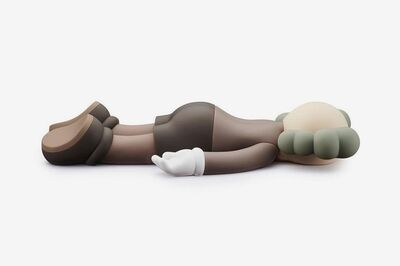 KAWS, 'COMPANION 2020 BROWN- KAWS', 2020