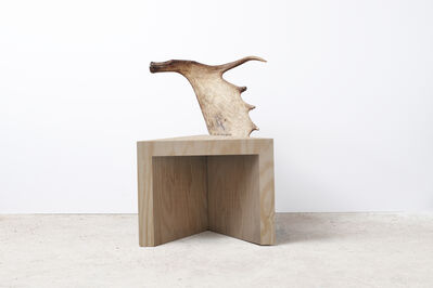 Rick Owens, 'Stag Stool (Natural Plywood)', 2015