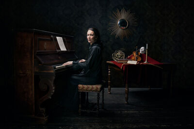 Dominique Agius, 'Pianiste', 2017