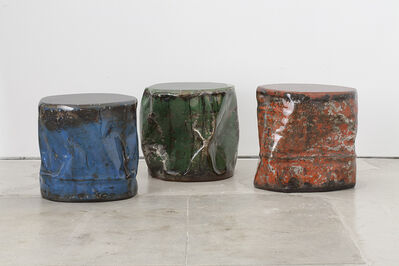 Taher Asad-Bakhtiari, 'Reclaimed Oil Barrels', 2017