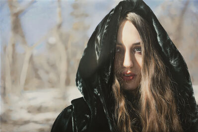 Yigal Ozeri, 'Untitled, Lizzie in the Snow 01', 2016