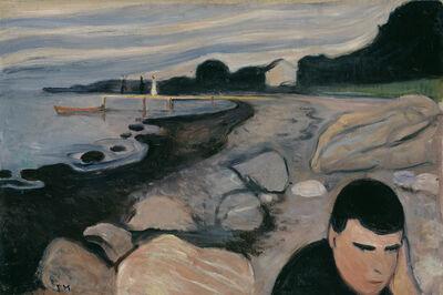 Edvard Munch, 'Melancholy', 1892
