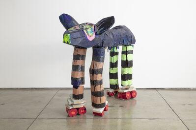 Jasmin Anoschkin, 'Rollerderby Pig', 2019