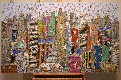 Heungwoo Shin, 'City fete: NewYork', 2017