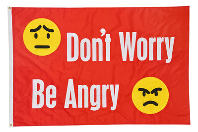 Jeremy Deller, 'Don't Worry Be Angry', 2017