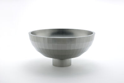 Chung Yongjin, 'High-Heeled Round Bowl with 288 Facets', 2016