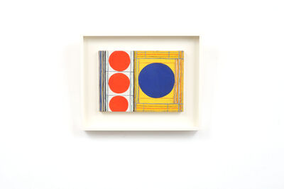 Onosato Toshinobu, '3 Red 1 Blue Beta ', 1955