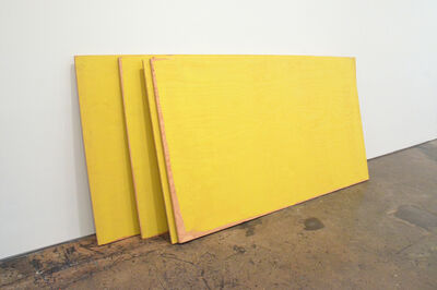 Russell Maltz, 'STACK - Safety Yellow', 1985-1992
