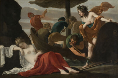 Louis Le Nain, 'Bacchus and Ariadne', ca. 1635