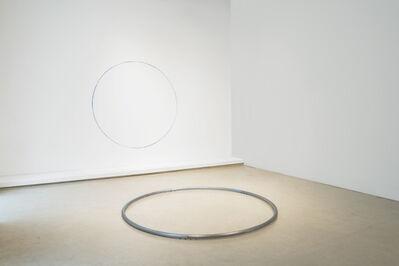 David Lamelas, 'Situación de un círculo azul', 2018