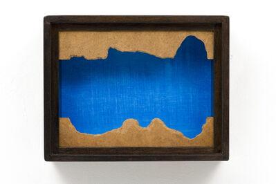 Pieter Laurens Mol, 'ZT (Blauw Rattegat) | Untitled (Blue Rat Hole)', 1971
