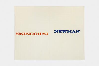 David Diao, 'Barnett Newman: Which Way Up?', 2014