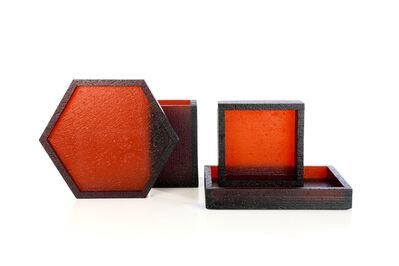 Sylvain Willenz, ''Blocks' red 208', 2012